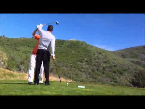 A Golf Lesson on How To Fix A Big Push/Slice or A Pull Hook