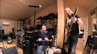 HammerFall: Rehearsal & tour of Castle Black Studios