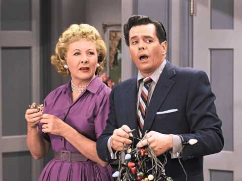 i love lucy christmas special jingle bells - I Love Lucy Christmas Special