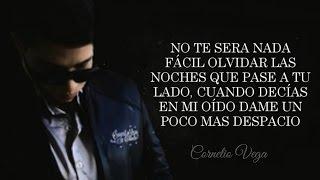 (LETRA) ¨DE MI TE VAS A ACORDAR¨ - Cornelio Vega Jr (Lyric Video)