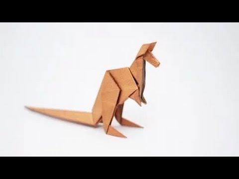 Origami Animal How To Fold An Origami Kangaroo Step By Step Youtube