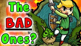 Top 8 Most ANNOYING/WORST 3D Dungeons In The Legend Of Zelda