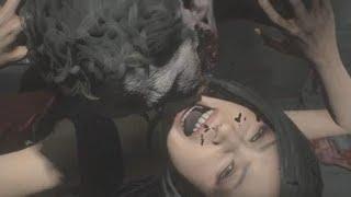 RESIDENT EVIL 2 Remake Ada Zombie Death
