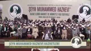 Şeyh Muhammed Haznevi Hazretlerini Anma Münasebeti  Mimar Sinan Kültür Merkezi  Yad 2013 / 1