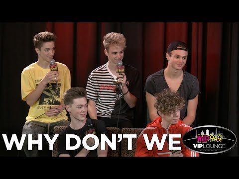'Why Don't We' Talks Hair Styling Rituals and Stories from the Road