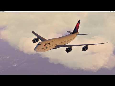 X-Plane 11 SGG B747-8i CYYZ Toronto Lester Pearson Sunrise