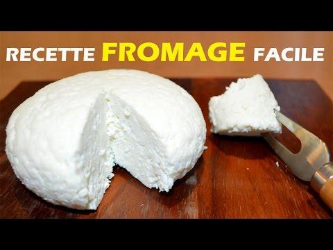 Recette fromage maison facile 2 ingrédients