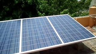 Asis Solar Tech On-Grid solar power plant ( without Battery bank )