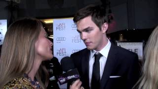 nicholas hoult talks about a single man