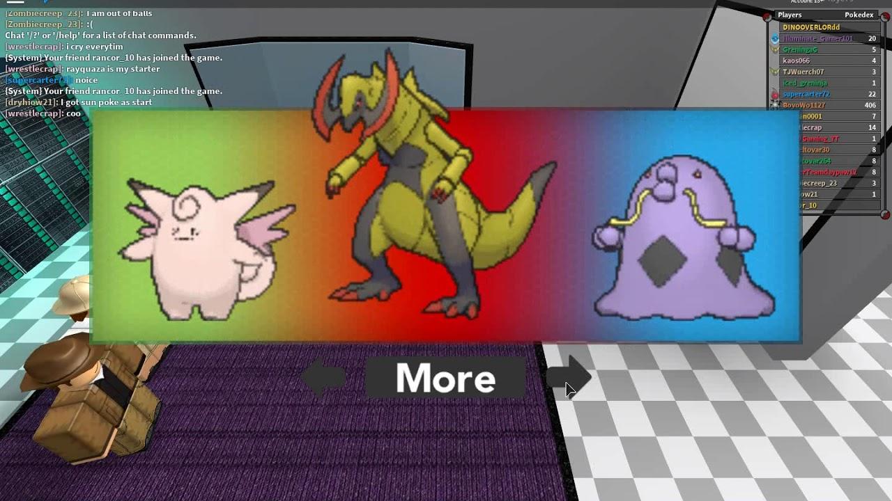 Roblox Pokemon Brick Bronze Randomizer Pokemon Brick Bronze Randomizer Mode Mewtwo Youtube