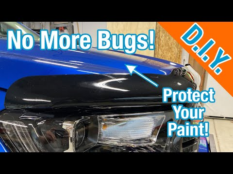 How To Install AVS Bugflector II – 2019 Ford Ranger