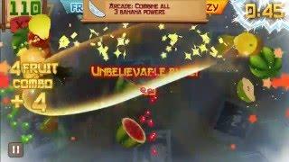 Fruit Ninja Arcade Mode World Record: 3345