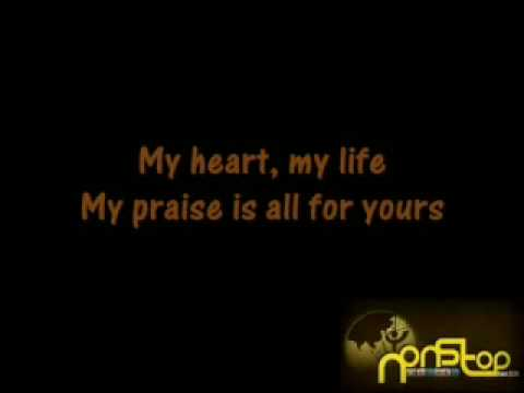 Worship song all for you