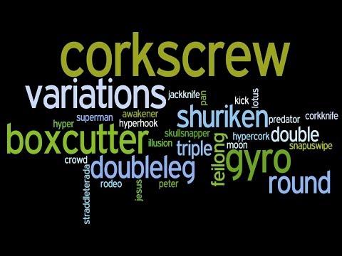 Tricking Expression - Corkscrew Variations