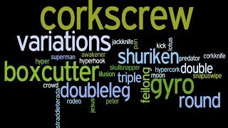 Tricking Expression - Corkscrew Variations