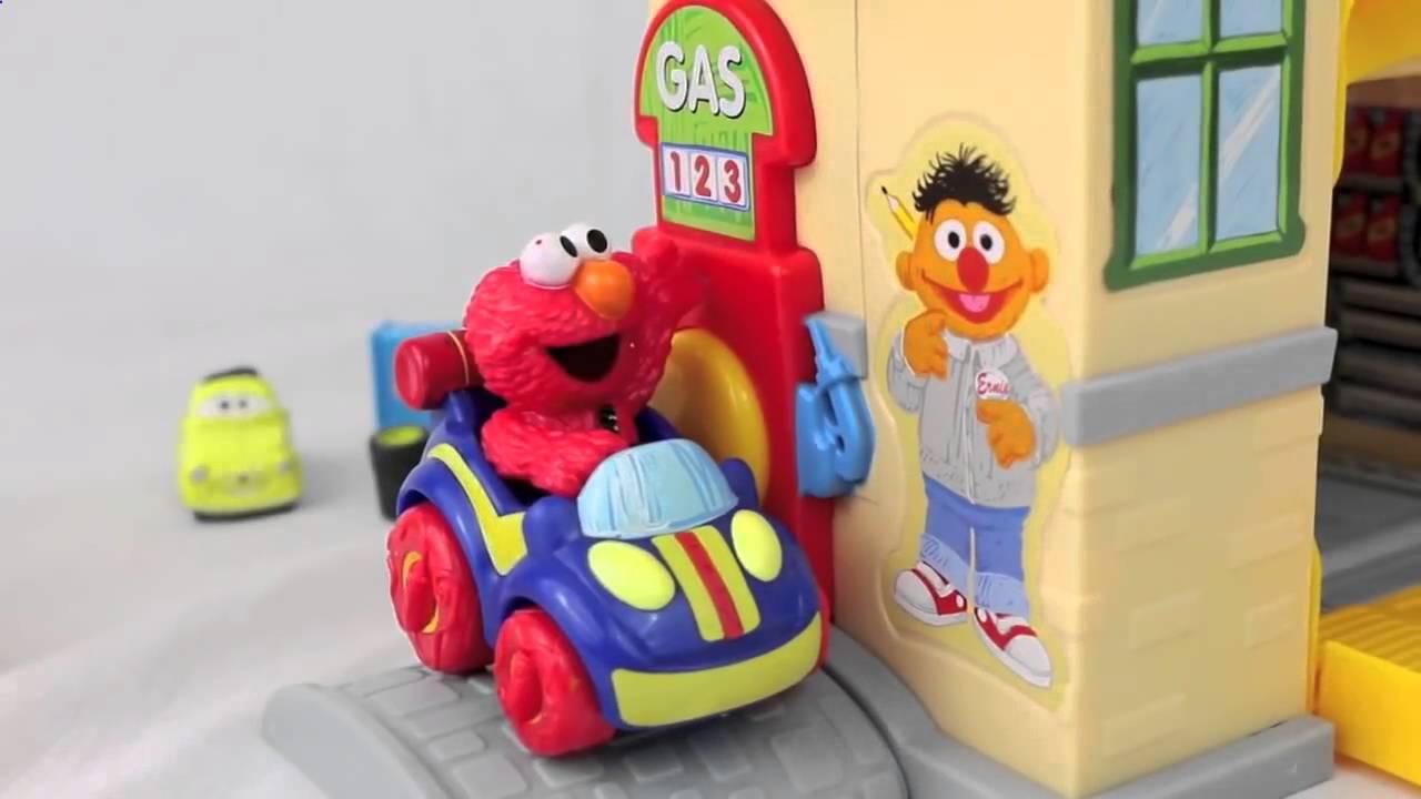 Sesame Street Cookie Monster Bert  Ernie s Tune Up Garage Come N