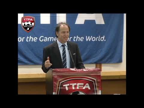 FIFA Head of Technical Development Services speaks at opening of Technical Directors Course