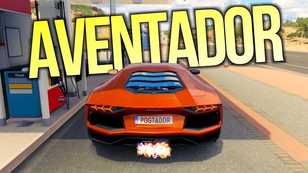 Forza Horizon 3 Lamborghini Aventador Lp700 4 Gameplay Hd 1080p