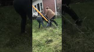 crazy girl fight then meth head ladys jump in