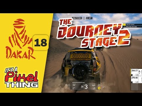 Dakar 18 :: Complete Stage 2 (38 min) | It's Play Time! (no commentary)