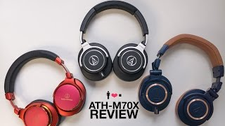 Audio Technica ATH-M70X First(?) In-Depth Impressions Review!