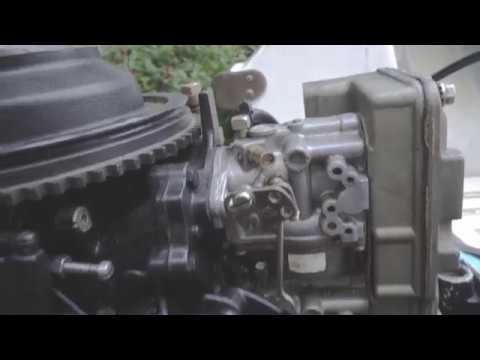 Two Stroke Outboard Shaking - easy carburetor linkage sync check and adjustment