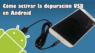 Activar Depuracion USB Android con Pantalla Negra | Somos Android