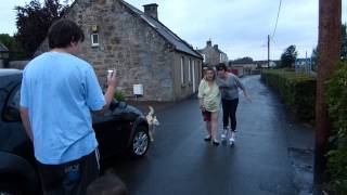 Fun In Airth - Alchohol + Bouncy Castle + Roller Skates = Caos
