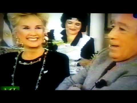 Mirtha Legrand con Anthony Quinn