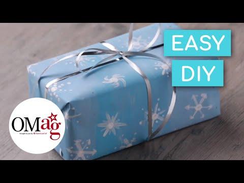 DIY Custom Wrapping Paper | Crafts & DIYs | American Girl