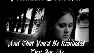Adele- Someone Like You- Español/ English- Lyrics