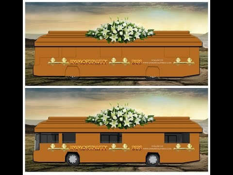 The Immortality Bus with US Presidential Candidate Zoltan Istvan