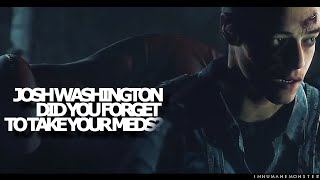 josh washington | did you forget to take your meds? {until dawn}