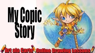 My Copic Story or how I almost lost a kidney to Copic but they only took Visa