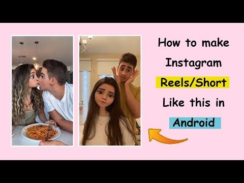 How To Make New Trending Instagram Reels 3D Cartoon Face   3d Cartoon Face Insta Reels Kaise Banaye