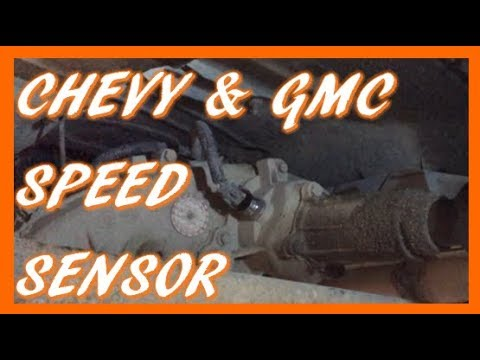 How To Replace Vehicle Speed Sensor in 1988-2005 Chevy GMC Truck & SUV