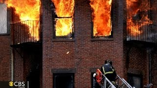 Two firefighters killed fighting Boston brownstone fire