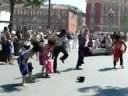 Dance at Place Masséna of Nice, France