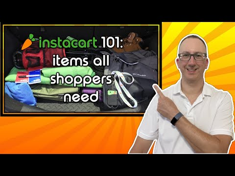 Instacart 🥕🛒 101: Tools And Items Every Shopper Should Have