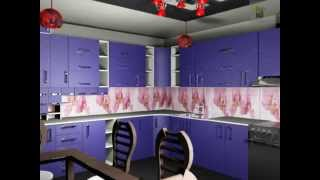 Дизайн светлой кухни с яркими деталями(Отделка ванной комнаты, как и обычной комнаты, а также может и все5й квартиры начинается с подготовки поверх..., 2014-11-16T13:52:39.000Z)