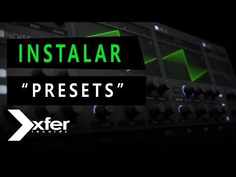 XFER SERUM - Cómo instalar presets y wavetables desde 0 - Tutorial