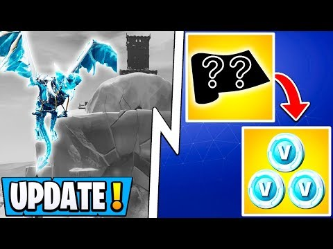 *NEW* Fortnite Update! | Dragon Event, Free Vbucks Reward, Burst SMG Gameplay!
