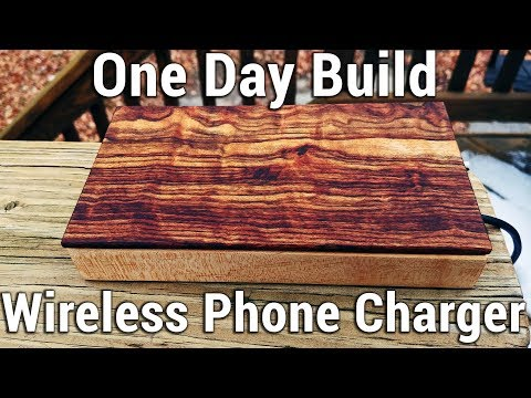 One Day Build: Wireless Charger for my Phone!
