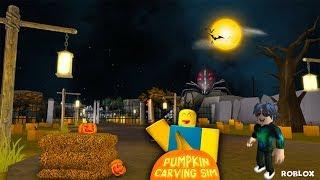 Kabak Tarlasında Hortlak Var ! / MONSTERS! 🧟 Pumpkin Carving Simulator / Roblox Türkçe