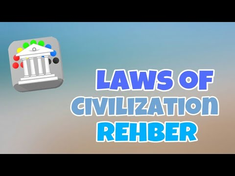 Laws of Civilization #1 REHBER