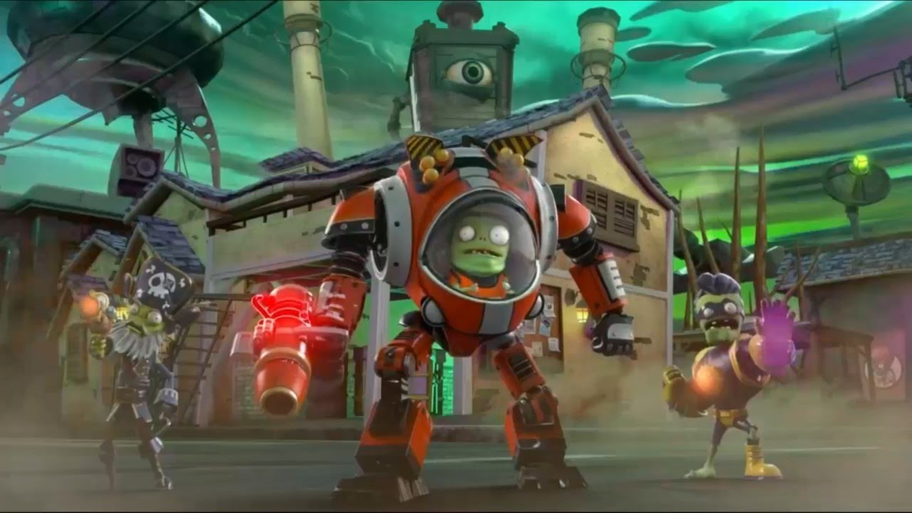 Plants Vs Zombies Garden Warfare 2 Gameplay Demo Ign Live E3 2015 Youtube