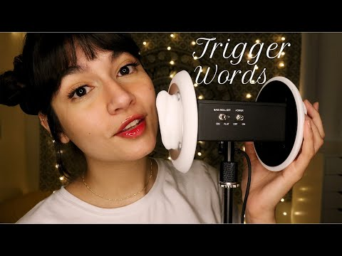 ASMR Intense Mouth Sounds & Trigger Words ♡