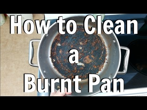 How To Clean Burnt Stainless Steel Pan
