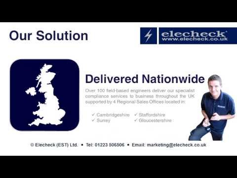 PAT Testing and Electrical Inspection from Elecheck