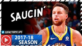 Stephen Curry Full Highlights vs Bulls (2018.01.17) - 30 Pts, 9 Reb, SICK!